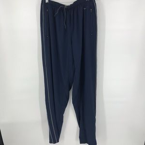 Vintage Nike stitched swoosh woven loose fit pants